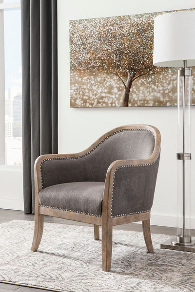 Angineer Brown Accent Chair - Ashley shop at  Regency Furniture