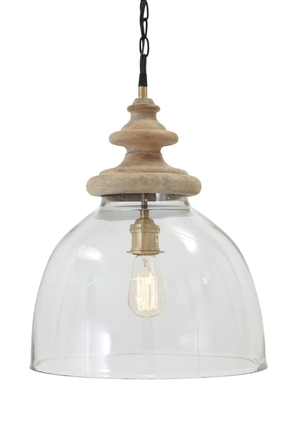Farica Transparent Glass Pendant Light (1/CN) - Ashley shop at  Regency Furniture