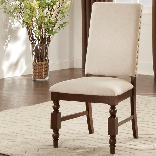 Find Homelegance Furniture Yates Dark Oak Side Chair at Marlo Furniture