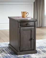 Laflorn - Gray - Chair Side End Table