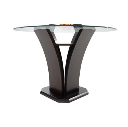 Daisy Counter Height Glass Dining Table