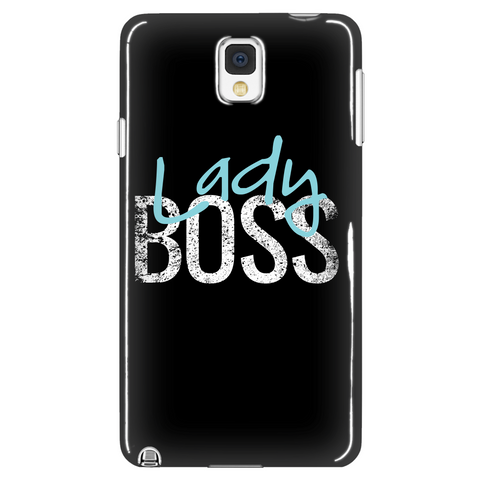 Lady Boss Phone Case (blue)