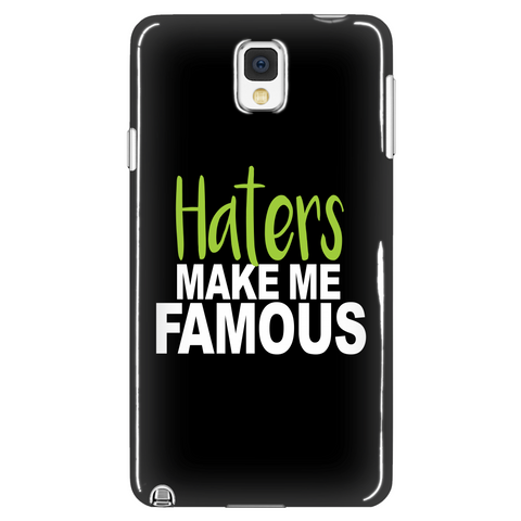Haters Make Me Famous Phone Case (green)
