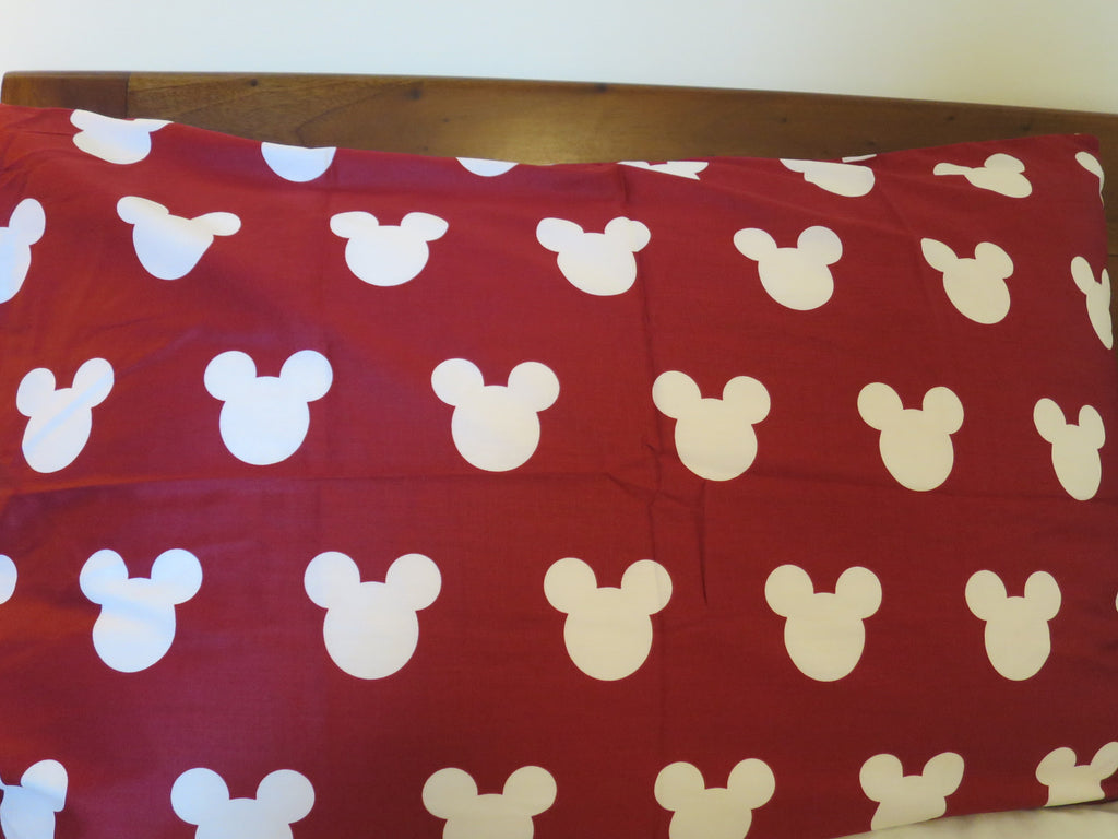 Mickey Mouse Head (Red)