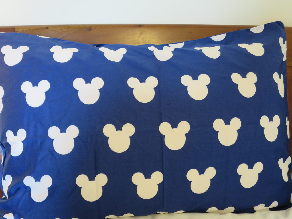 Mickey Mouse Head (Blue)