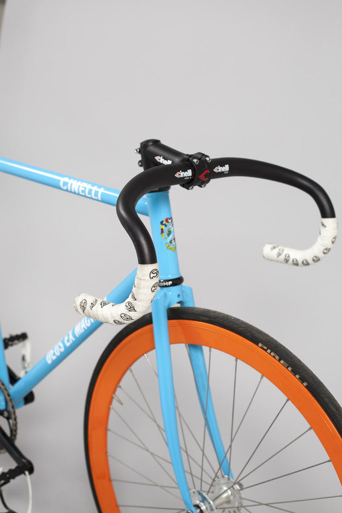 Cinelli Deus Ex Machina fixed gear track bicycle – The Heroes ...