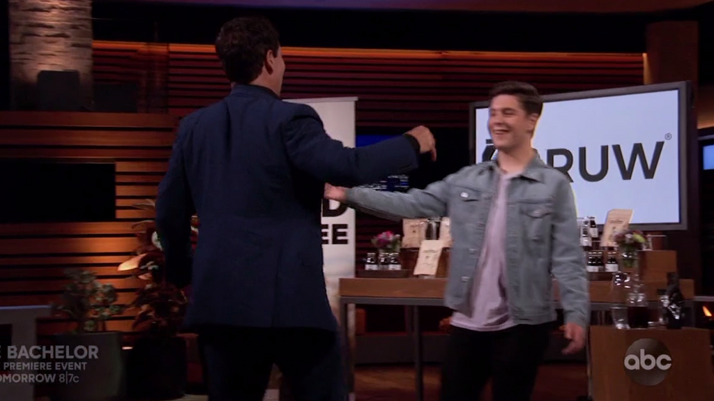 BRUW SECURES THE DEAL ON SHARK TANK #TEAMCUBAN