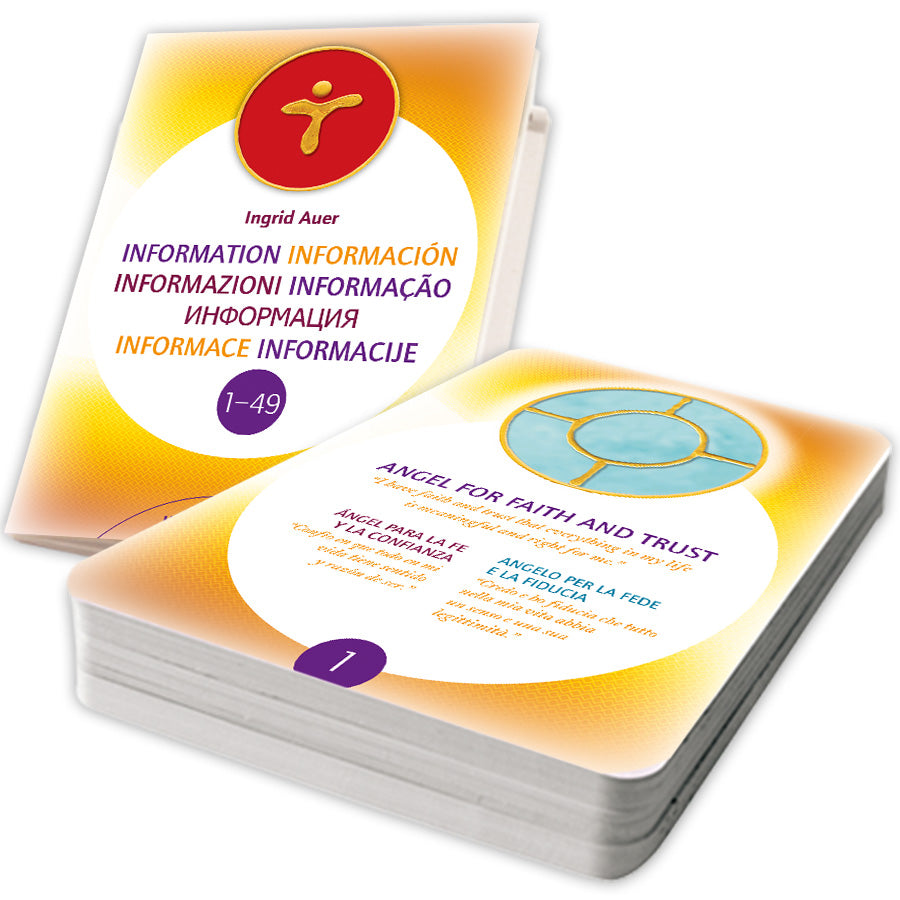 Energized Angel Symbols. 49 energized Symbol Cards (multilingual) + Information