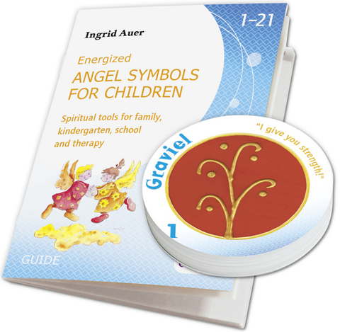 Energized Angel Symbols for Children. Spiritual tools for family, kindergarten, school and therapy. 21 energized symbol cards by Ingrid Auer