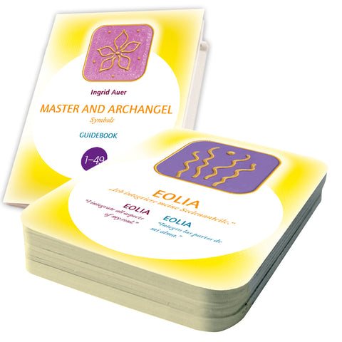 Master and Archangel Symbols - 49 energized Symbol Cards + Guide