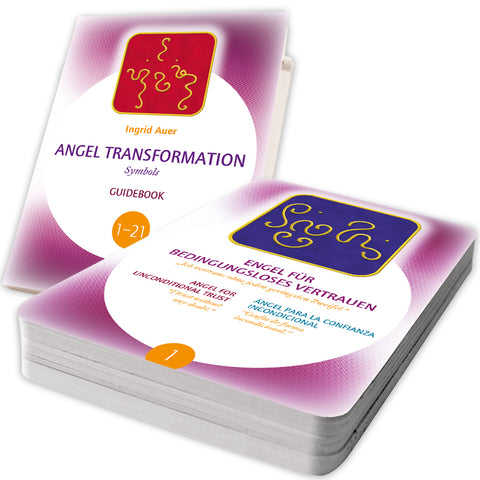 Angel Transformation Symbols - 21 energized Symbol Cards + Guide