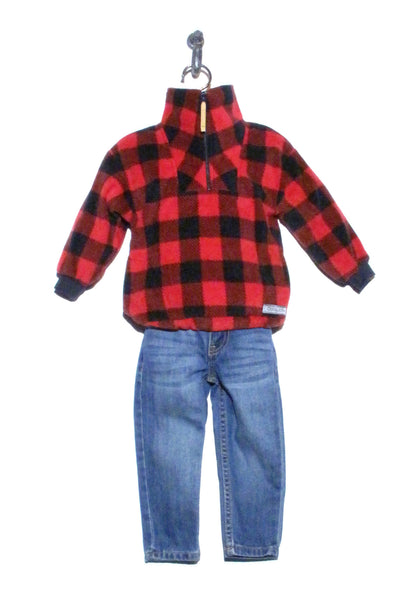 Buffalo Black/Red Plaid GabbyJacks