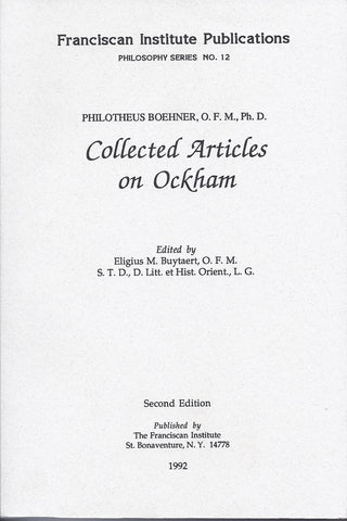 Collected Articles on Ockham