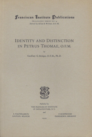 Identity and Distinction in Petrus Thomae
