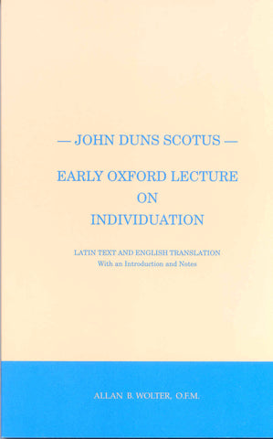 John Duns Scotus Bundle