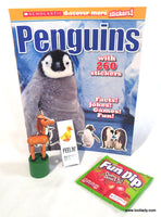 Scholastic Penguins Sticker & Activity Book