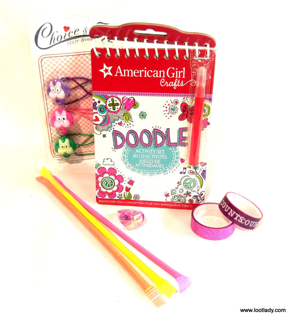 American Girl Doodle Activity Pad