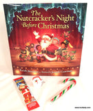 The Nutcracker's Night Before Christmas -  Hard Cover Book