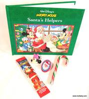 Mickey Mouse Santa's Helpers - Hard Cover Story Book