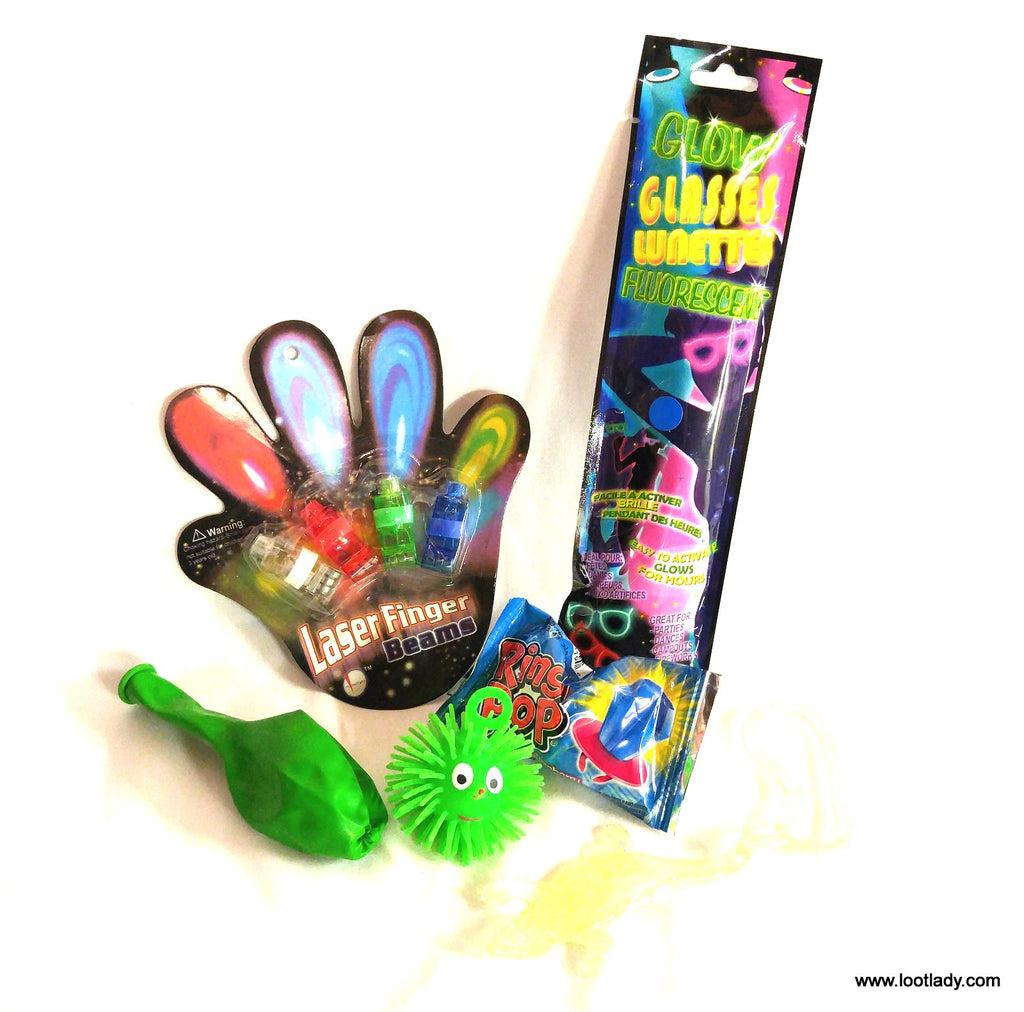 Laser Fingers Plus - It all lights up!