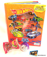 Hot Wheels Stuck On Stories Board Book