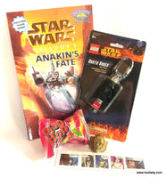 Star Wars LEGO MINI FIGURE Key Chain & Book