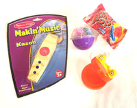 Wooden Music Makers Deluxe - Kazoo & Castanet