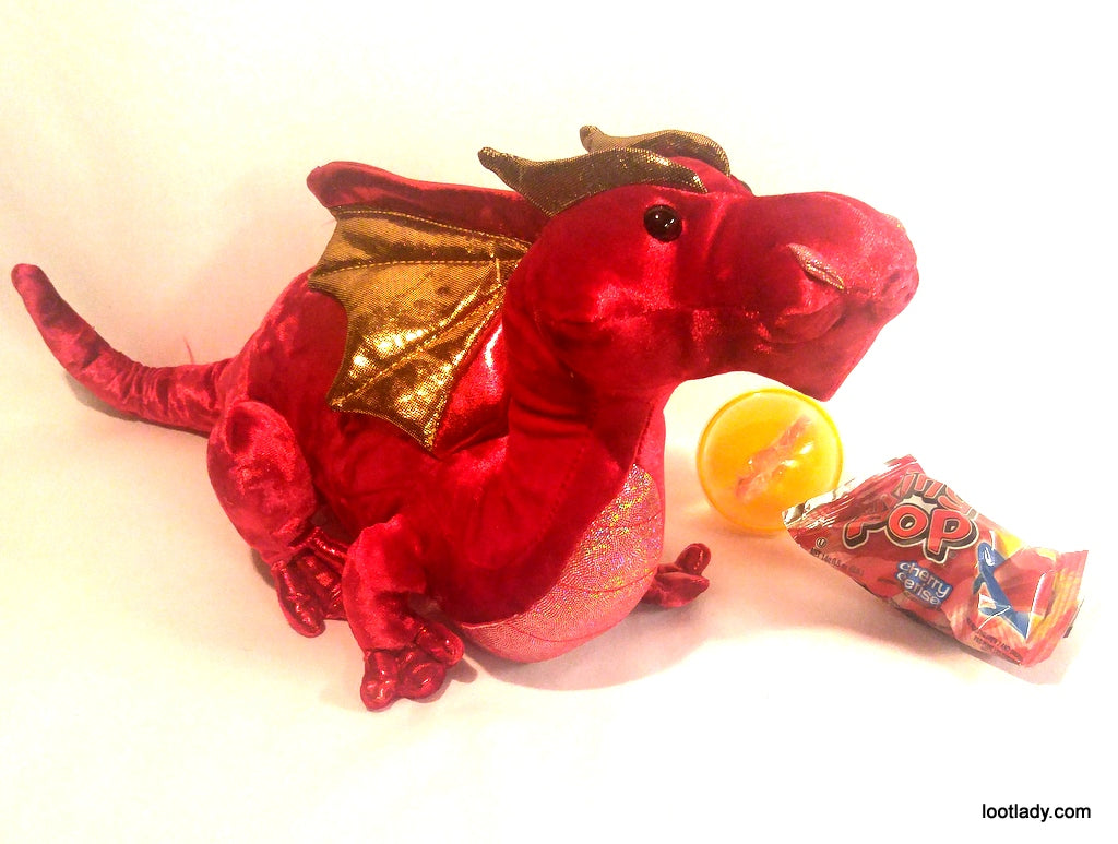 Douglas Toys Plush Clearance - Red Dragon