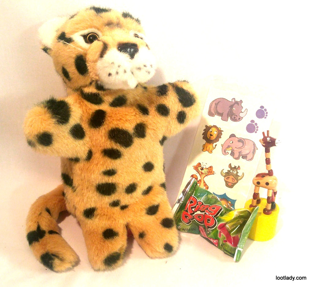 Leopard Plush Puppet  - Last One