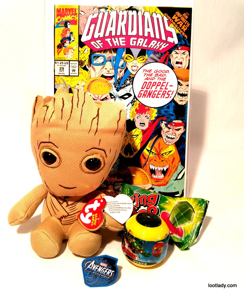 Guardians of the Galaxy Comic & GROOT TY