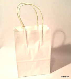 Small Paper Bag with handle - add on SOLD EACH