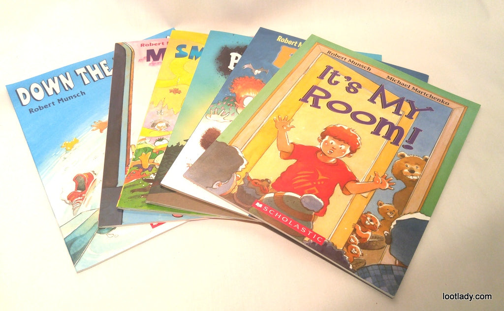 Robert Munch Story Book Time - You Choose the Title!