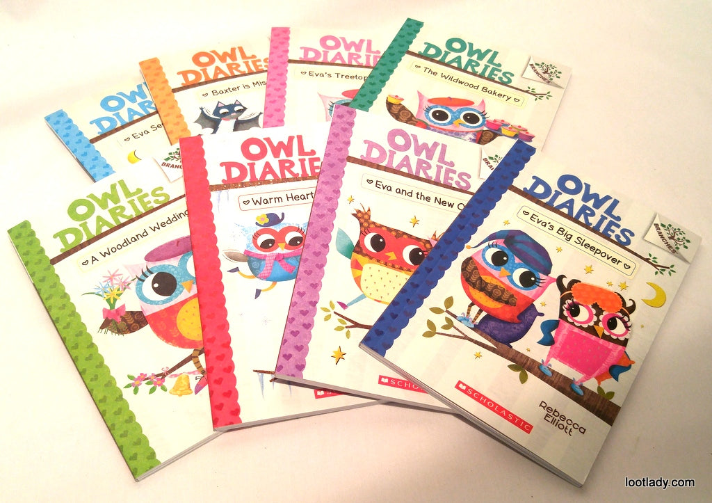 The Owl Diaries Illustrated Chapter Book Top Pick