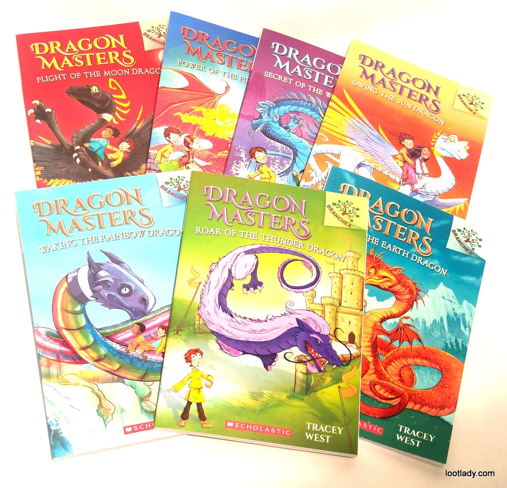 Dragon Masters Adventures - Illustrated Chapter Books
