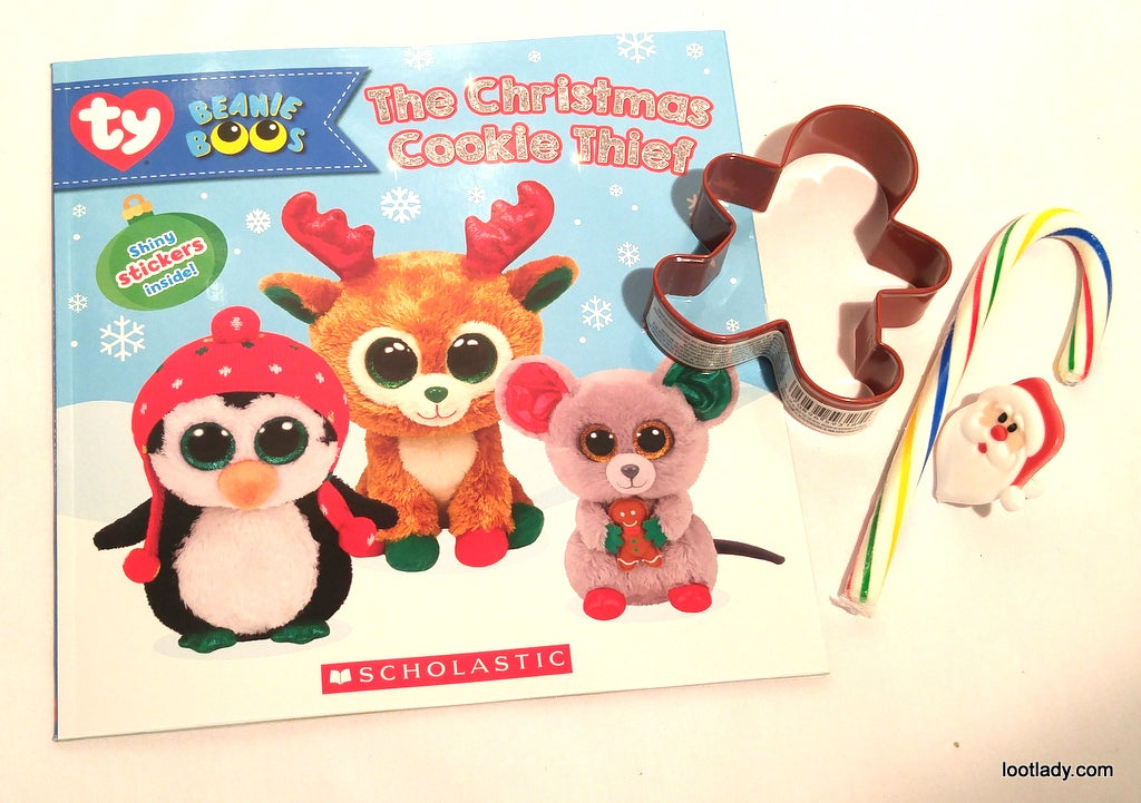 Beanie Boo Story Book Top Pick with Stickers - The Christmas Cookie Theif 28f22f5e3cb