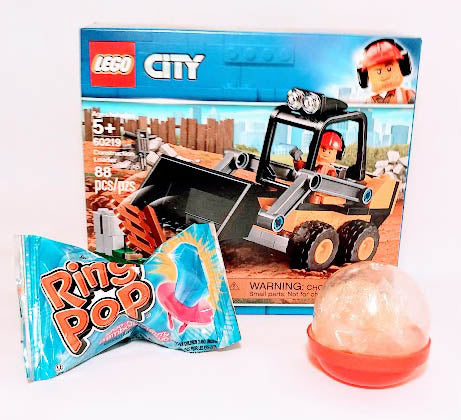 Construction Loader LEGO City Supreme