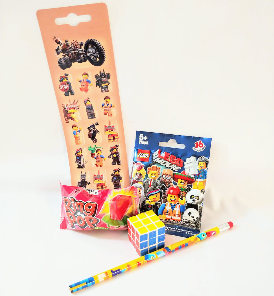 LEGO Movie Stickers & Figure