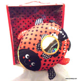 Ladybug Interactive Cloth Book