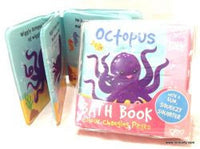 Bath Time Book - Octopus or Whale with Colour Changing Pages!