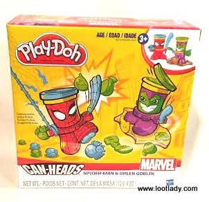 Play Doh - Superhero Can Heads