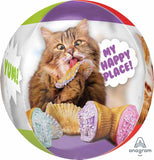 Avanti Cats Orbz Balloon -  Inflated