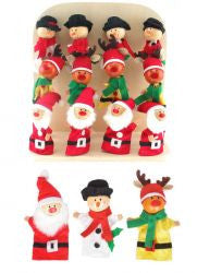 Christmas Finger Puppets (sold each)