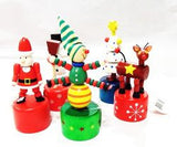 Christmas Wooden Push Toy