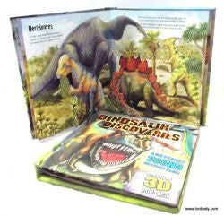 Pop Up Book with Sound - Dinosaurs Premium