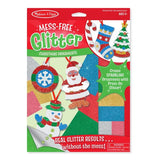 Christmas Mess Free Glitter Ornaments Activity
