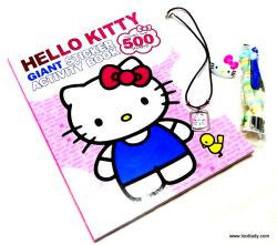 Hello Kitty Giant Sticker Activity Book - CLEARANCE Priced