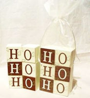 HOHOHO block Set Gift (sold each)