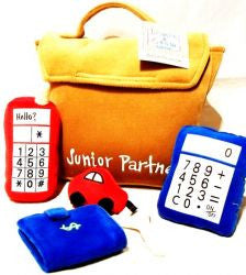 Learn & Grow Jr. Partner Plush Brief Case Kit