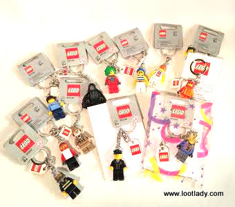 LEGO Key Chain Fun Bag