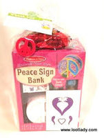 Do-It-Yourself Peace Bank Craft Premium
